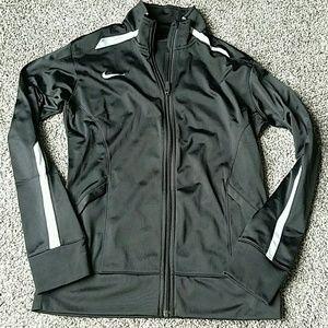 Womens Nike dri-fit zip up